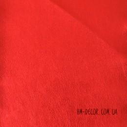 Экокожа мягкая красная 20*30 см