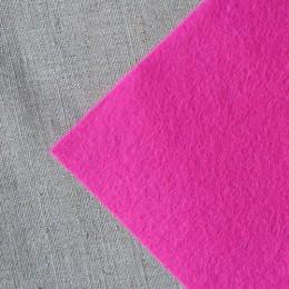 Фетр розовый 20*25 см 1 мм
