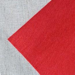 Фетр красный 20*25 см 1 мм
