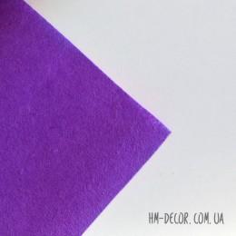 Фетр фиолетовый 20*25 см 1 мм