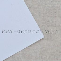 Фоамиран глитер белый 20*30 см