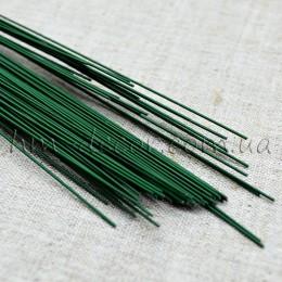 Проволока флористическая зеленая 60 см 1,2 мм 5 шт.