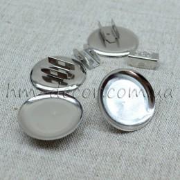 Основа металлическая для резинки 2,5 см