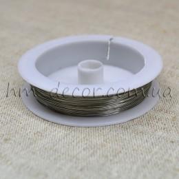 Проволока флористическая серебро 0,3 мм 50 м