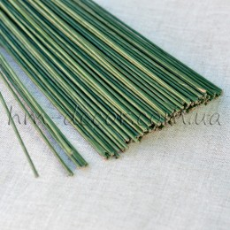 Проволока зеленая 40 см 2 мм 1 шт.