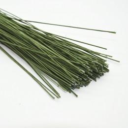 Проволока в зеленой тейп-ленте 60 см 1 мм 5 шт.