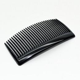 Гребень для волос черный пластиковый 9/4 см