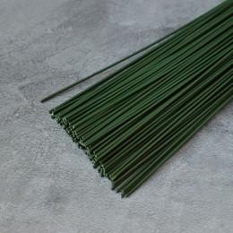 Проволока зеленая 60 см 1,2 мм 5 шт.