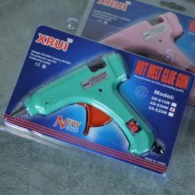 Пистолет клеевой мятный с выключателем 7 мм