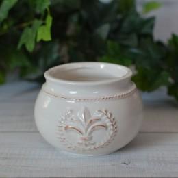 Кашпо керамическое узор 7*8 см