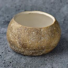 Кашпо керамическое 002 Камень 65х110 мм
