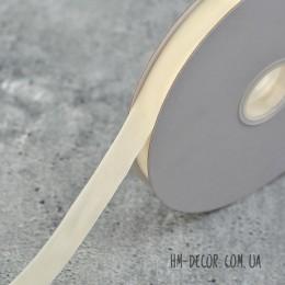 Лента бархатная айвори 2 см 1 м