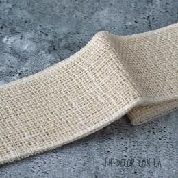 Лента-мешковина бежевая 8,5 см 1 м