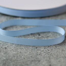 Лента репсовая 1 см нежно-голубая1 м