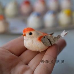 Птичка декоративная микс 5*3 см 1 шт.