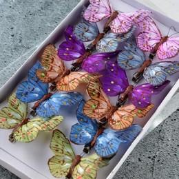 Бабочка микс 5110 на прищепке 8 см 1 шт.