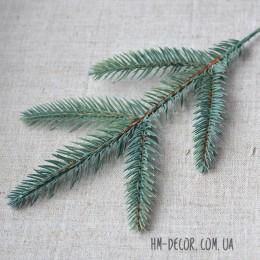 Ветка ели 5-ка мелкая зелено-голубая 30 см