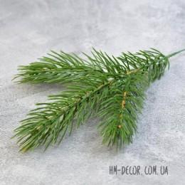 Ветка сосны 3-ка зеленая 30 см