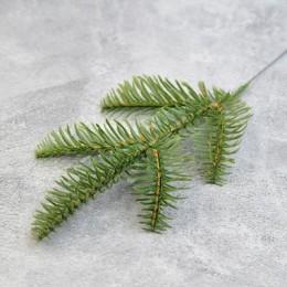 Ветка лиственницы 5-ка зеленая 25 см