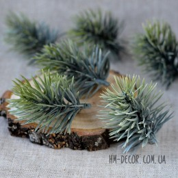 Веточка сосны зелено-голубая 7 см