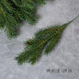 Ветка ели 5-ка зеленая New 25 см