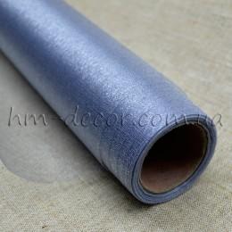 Органза серебро 50*50 см
