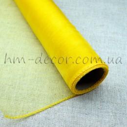 Органза желтая 40*50 см