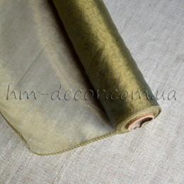 Органза оливковая хамелеон 40*50 см