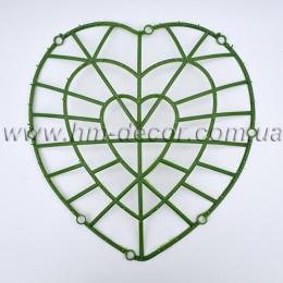 Каркас для цветов  Сердце 35*40см