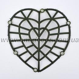 Каркас для цветов  Сердце 22*24 см