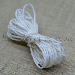 Шнур бумажный белый 2 мм 5 м