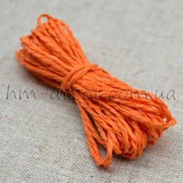 Шнур бумажный оранжевый 2 мм 5 м