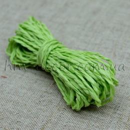 Шнур бумажный салатовый 2 мм 5 м