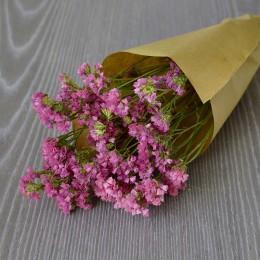 Кермек сухоцвет розовый букет 40 см