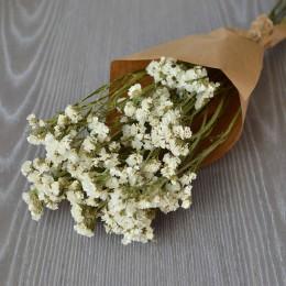 Кермек сухоцвет белый букет 40 см