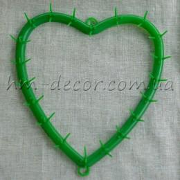 Каркас для цветов  Сердце 23*24 см