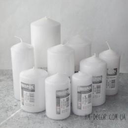 Свеча белая цилиндр 5*10 см