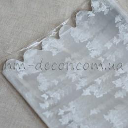 Пакет подарочный прозрачный с рисунком 20*30 см 1 шт.