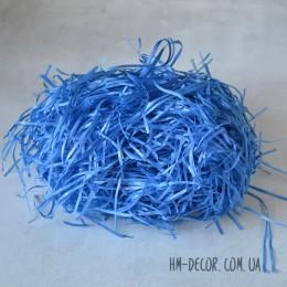 Бумажный наполнитель синий 20 г