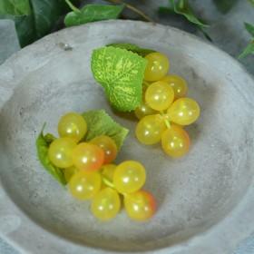Виноград желтый искусственный 8 см