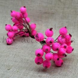 Ягоды в сахаре розовые 40 шт.