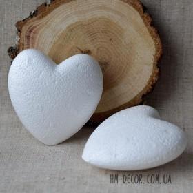 Сердце из пенопласта 8 см
