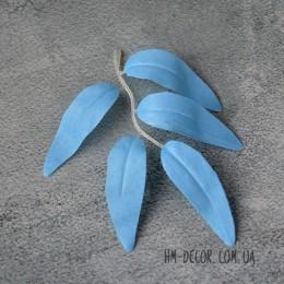 Лист ивы голубой 12 см