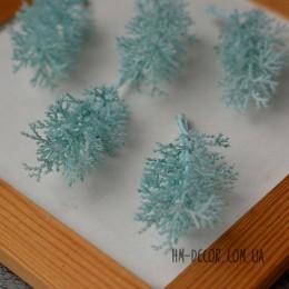 Веточка 003 нежно-голубая 8 см 1 шт.