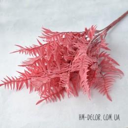 Папоротник премиум бордо 13 листьев 45 см