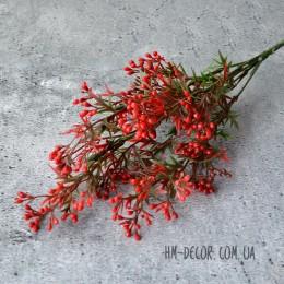 Мимоза куст красный 5 веток 30 см