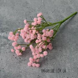 Гипсофила розовая латекс 5 веток 30 см