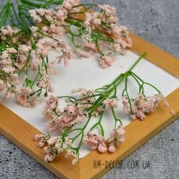 Ветка с розовыми ягодками пенопласт 20 см
