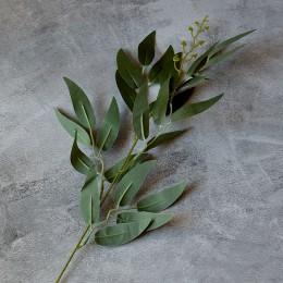 Ветка ивы зеленая 40 см