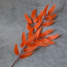 Ветка ивы оранжевая 40 см